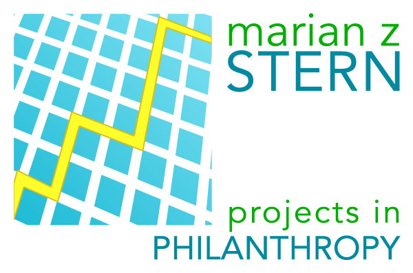 Projects in Philanthropy - Marian Z. Stern